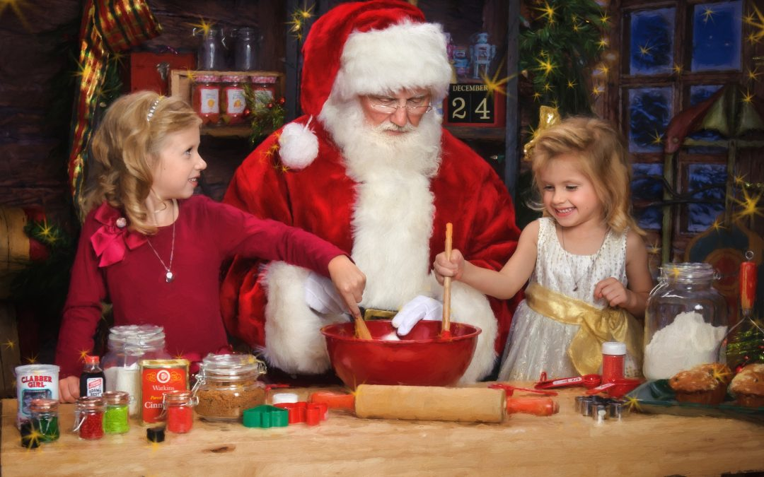 Pictures with Santa – The Art and Magic of Santa in The Woodlands, Texas